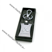 Авто брелок Митсубиси Lancer на ключи, металл+кожа на подарок