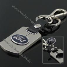 Брелок Форд (Ford) на ключи, стальной, оригинальные авто брелки