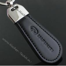 Брелок Инфинити   Infiniti на ключи авто, кожа, оригинальные авто брелки