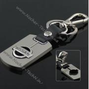 Брелок Nissan (Ниссан) на ключи авто, стальной, брелки на авто