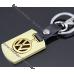 Брелок Фольксваген VW Volkswagen на ключи авто, стальной