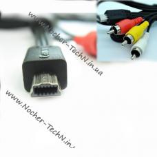 av-кабель Canon AVC-DC400ST для фотоаппарата EOS 60D, 70D, IXUS 990IS, SD4500IS, SX40
