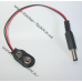 Переходник | адаптер | питания под батарейку Крона 9V с коннектором 5.5мм, Arduino