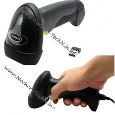 Сканер штрих кода Alanda CT007 беспроводной + USB проводной, лазерный для кладовщиков, продавцов