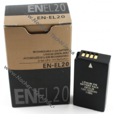 Аккумулятор Nikon EN-EL20 для фотоаппарата 1 AW1, 1 J2, 1 S1, Coolpix A и др.