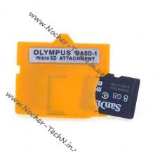 Переходник, адаптер с карты памяти microSD на карту Olympus xD-Picture (MASD-1)