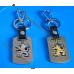 Брелок Пежо | Peugeot | на ключи, стальной, оригинальные авто брелки