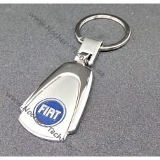 Брелок Фиат | Fiat | на ключи авто с логотипом, металл, оригинальный подарок