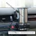 Автомобильная кружка с подогревом от прикуривателя, термокружка для напитков - метал