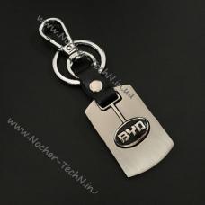 Авто брелок BYD на ключи авто, стальной с логотипом