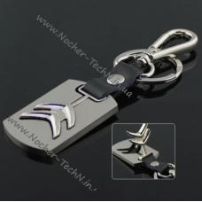 Брелок Citroen (Ситроен) на ключи автомобиля, стальной