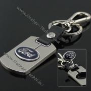 Брелок Ford (Форд) на ключи авто стальной как оригинальный подарок