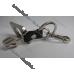Брелок Honda (Хонда) на ключи, стальной, автомобильные брелки на подарок