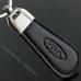 Авто брелок КИА (KIA) кожаный на ключи автомобиля, брелок на подарок