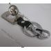 Брелок Митсубиси (Mitsubishi) Lancer на ключи, стальной, авто брелки на ключи