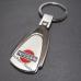 Авто брелок Nissan | Ниссан | на ключи, овальной формы как оригинальный подарок