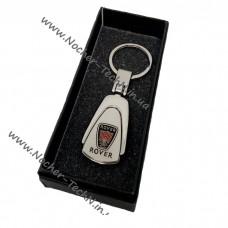Брелок Rover | Ровер | на ключи авто, металл, капелька как оригинальный подарок
