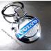 Авто брелок Вольво (Volvo) на ключи в виде логотипа, металл