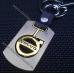 Брелок Volvo (Вольво) на ключи авто, стальной, оригинальный подарок автомобилисту