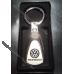 Брелок Volkswagen (Фольксваген) на ключи, овальный и стальной на подарок