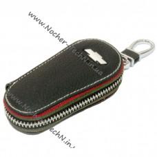Удлиненная ключница 9см. для Шевроле   Chevrolet   ключа зажигания, кожаный чехол