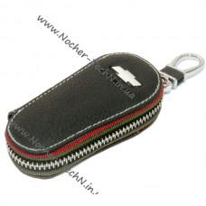Удлиненная ключница 9см. для Шевроле | Chevrolet | ключа зажигания, кожаный чехол