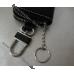 Кожаный чехол для ключей с логотипом Hyundai (Хюндай), ключница автомобильная