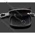 Ключница Мицубиси (Mitsubishi) кожаная с логотипом, чехол для ключа зажигания