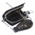 Кожаный чехол для ключа Skoda (Шкода), ключница автомобильная с логотипом