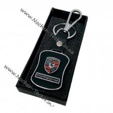 Авто брелок Порше | Porshe | на ключи авто с кож.вставкой как оригинальный подарок
