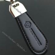 Брелок Рено (RENAULT) кожаный на ключи авто как оригинальный подарок