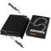 Усиленный аккумулятор SBP-09 XL 2600mAh для ASUS MyPal A626, A686, A696
