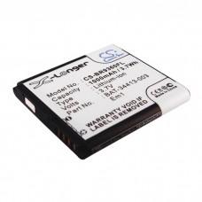 Аккумулятор для телефона Blackberry EM1 1000mAh модели Apollo, Sedona, Curve 9350, 9360, 9370