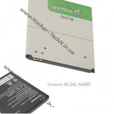 Аккумулятор Lenovo BL242 2300mAh для телефона A6000, K3 Note, K30-T, Леново A6000 DUAL SIM