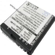 Аккумулятор Nokia BP-6P, BL-6P 830mAh для телефона 6500, 7900P и другие
