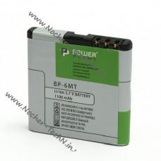 Аккумулятор для Nokia BP-6MT 1100mAh для телефона N78, E51, 6110, 6500, 6720 classic (bl-6MT)