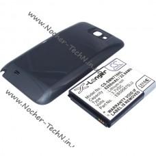 Аккумулятор для Samsung телефона Note 2, N7100 6200мАч (EB595675LU) усиленный с крышкой