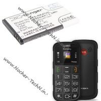 Аккумулятор для телефона Texet TM-B113 900mAh и другие модели Тексет