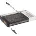 Аккумулятор для телефона Texet TM-510R, 1450 mAh и другие марки смартфонов