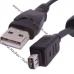 Кабель CB-USB6, CB-USB5 для фотоаппарата Olympus FE-140, E-510, SP-590UZ, µ 720 SW, SZ20, TG320