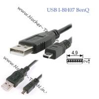 Кабель usb I-BH07 для фотоаппарата BenQ GH600, GH700, DC C740, E1465, AE200, LM100 и др.