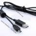 USB-кабель 12Pin для фотоаппарата Casio EX-FH100, EX-H20, EX-Z9, EX-ZR15, EX-Z90, EX-Z550