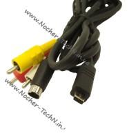 Композитный кабель AV (аудио-видео) MTC-100 для подключения видеокамеры Canon к телевизору