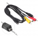 Кабель AV (аудио|видео) для видеокамер Sony VMC-15FS, VMC-30FS | DCR-SR42E, DVD505, HDR-SR7E, HDR-UX20E