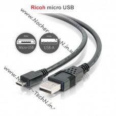 Кабель microUSB I-USB157 (USB152) для фотоаппарата Ricoh HZ15, G800, WG-30, WG-M1