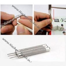 Стальные пины Pin 3шт. (0.7, 0.8, 1.0мм) для ремонта браслета часов как инструмент часового мастера