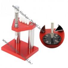 Настольный инструмент установки стрелок наручных часов с насадками (пресс-потанс) для часовщика