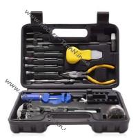 Инструмент для ремонта часов №16 в кейсе в виде набора для часовщика и дома