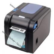 Принтер этикеток, наклеек Xprinter XP-370b чековый термопринтер c поддержкой QR и 1D кода
