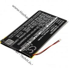 Аккумуляторная батарея для электронной книги Kobo Glo HD, H2O, Aura - 1500mAh